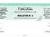 Bulletin n°: 3