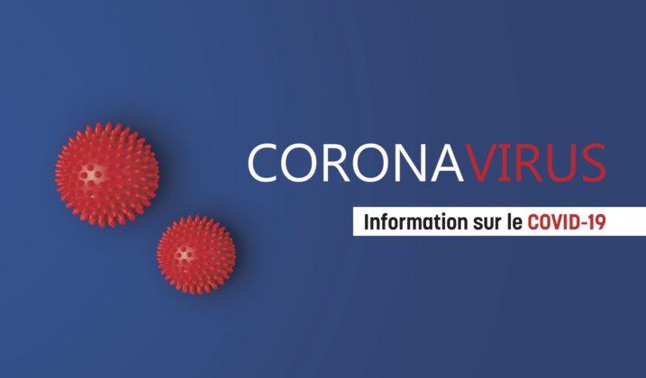 Nouvelles mesures préventives concernant l'évolution de la pandémie Coronavirus