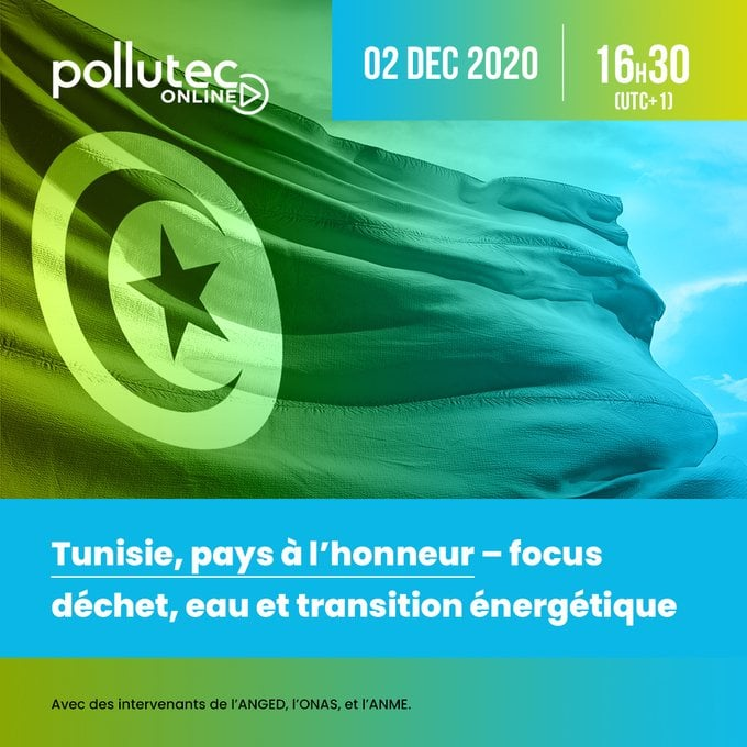 "La Tunisie pays à l'honneur au Salon international ""Pollutec"""