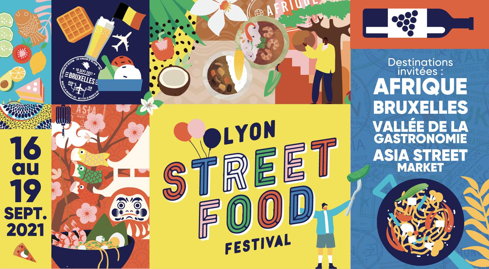 (Français) La Tunisie  présente au LYON STREET FOOD FESTIVAL du 16 au 19 septembre 2021